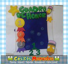 Decoraciones escolares , horarios de clases , cuadro de honor , cartelera de cumpleaños , letrero de bienvenida , frase edificante y bonita...
