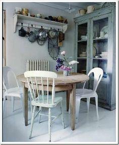 Comedor gris rustico - Cocinas con encanto ...