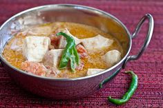 Step by step photos for Indian Fish Coconut Curry Recipe from Entice With Spice Cookbook by Shubhra Ramineni. Curry Recipes, Fish Recipes, Indian Food Recipes, Asian Recipes, Ethnic Recipes, Coconut Fish, Coconut Milk Curry, Kitchen Recipes, Cooking Recipes