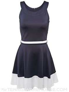 Fila Fall Heritage Halter Tennis Dress In Navy Loving This And Im Not A