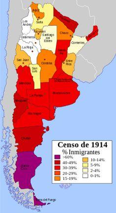 Inmigración en Argentina - Wikipedia, la enciclopedia libre
