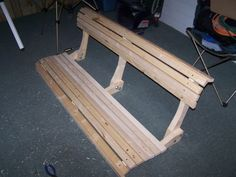 Wood Porch Swing Plan - Homemade porch swing that is easy to build