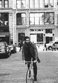 // men on bikes