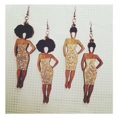 New on the blog... Jewelry Maker Todd Parsons #jewelry #earrings #naturalhair…