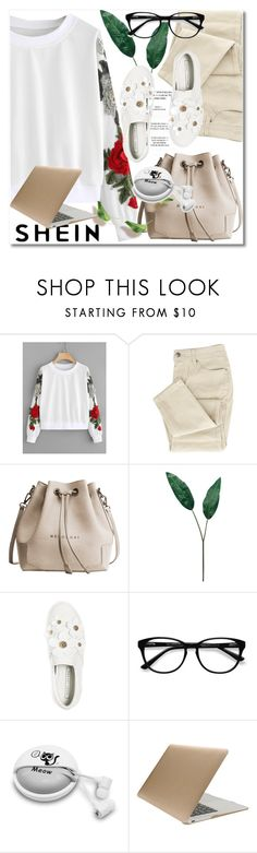 """""""Pullover"""" by ilona828 ❤ liked on Polyvore featuring Laura Cole, Marc Jacobs, EyeBuyDirect.com, Samsung, Tucano, StreetStyle, polyvoreeditorial and shein"""