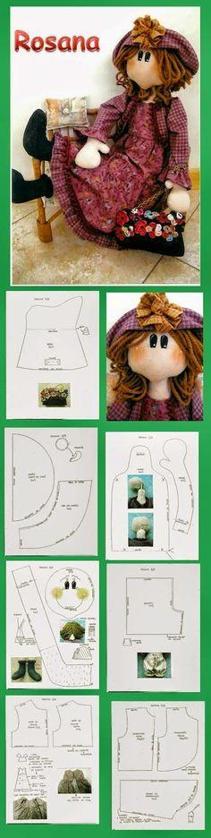 szmaciana lalka - tutorial