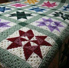Crochet Bedspread Patterns Part 16 - Beautiful Crochet Patterns and Knitting Patterns Crochet Bedspread Pattern, Crochet Blanket Patterns, Crochet Shawl, Crochet Doilies, Crochet Stitches, Knitting Patterns, Crochet Home, Free Crochet, Storing Blankets