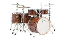 "Gretsch CM1E826PWG 2014 Catalina Maple 6-Piece Shell Pack with Free Additional 8"" Tom - Walnut Claze * Details can be found by clicking on the image."