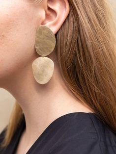 To Stener Øredobber - Håndlagede smykker fra Mold Atelier Stone Earrings, Accessories Shop, Designer Shoes, Personal Style, Stones, Jewelry, Fashion, Atelier, Moda