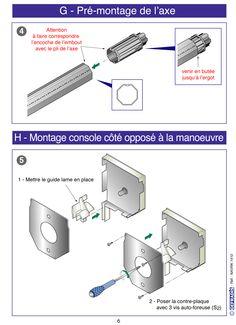 Page 6. Cette notice vous explique comment poser votre volet roulant en kit vous-même.  Prix d'usine sur Gefradis.fr.