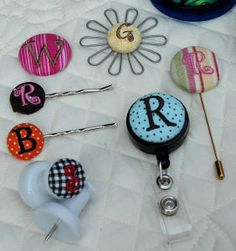 embroider buttons
