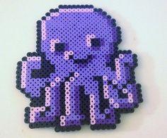 Perler bead octopus