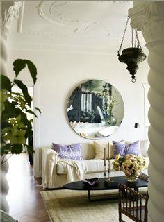 Antique & modern : living room