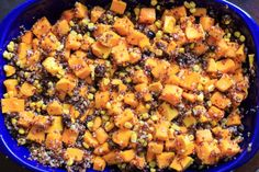 Butternut squash quinoa casserole is full of vegetables and makes a delicious vegetarian, gluten-free, and vegan friendly casserole for the whole family. Vegan Bean Recipes, Vegetarian Recipes, Healthy Recipes, Vegetarian Dish, Whole Food Recipes, Cooking Recipes, Vegetarian Casserole, Roasted Butternut Squash Soup, Healthy Eating