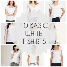 The Best Basic White T-Shirt