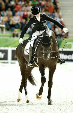 Equestrian Dressage Riding