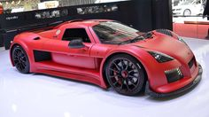 Basically a street-legal racing car, the Audi-engined Apollo held both the Top Gear test track and N... - Gumpert