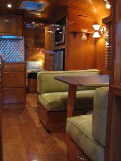from a Spartan Royal Mansion Vintage Rv, Vintage Airstream, Vintage Caravans, Vintage Travel Trailers, Vintage Campers, Airstream Campers, Camper Caravan, Remodeled Campers, Camper Trailers