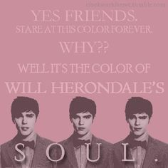 """""""And what Do you think the color of your soul is William Herondale?"""" """"Mauve."""""""