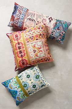 Happy Pillows : ))) Pirra Pillow - anthropologie.com