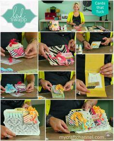 My Craft Channel: Nov. 28th: Timeless Village Part 3, Heidi Swapp's Cards that Tuck, Counter Keeper Heat Pad