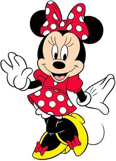 Hope to get my picture with Minnie Mouse