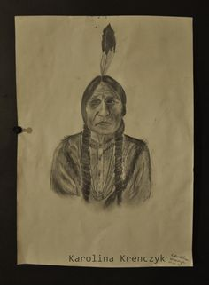 #American #indian #pencil #drawing #art #sketch