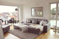 Image via We Heart It https://weheartit.com/entry/121947779/via/12419654 #beautiful #cozy #dog #grey #home #homesweethome #interior #livingroom #luxury #room #style #white