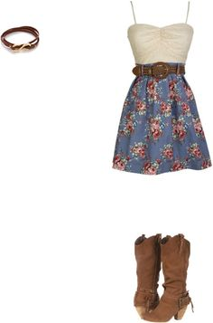 """""""Cowgirl"""" by maykelly ❤ liked on Polyvore"""