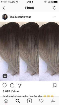 You do things… Brown Hair Balayage, Brown Blonde Hair, Hair Color Balayage, Hair Highlights, Dark Hair, Bayalage, Hair Color And Cut, Ombre Hair Color, Brown Hair Colors
