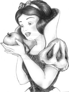 Drawing disney princesses snow white 64 Ideas for 2019 Walt Disney, Disney Pixar, Ariel Disney, Cute Disney, Disney Art, Disney Princesses, Disney Movies, Disney Characters, Disney Princess Drawings