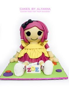 Lalaloopsy  Cake by cakes by alyanna