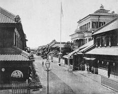 三井越後屋呉服店の画像:大江戸歴史散歩を楽しむ会