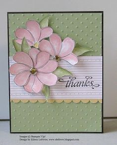 """Eileen's """"Stampin' Fever"""" Blog...Awash with Flowers"""