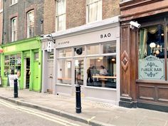 The original BAO destination in London. Known for our steamed buns and range of contemporary Taiwanese dishes. We have 3 locations in London. Bao London, London Eats, Soho, Places To Go, Indoor, Patio, The Originals, Street, Building