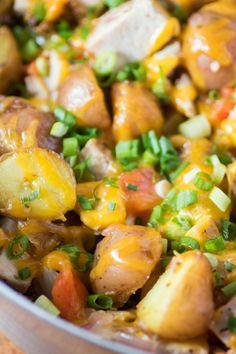 Leftover Turkey Potato Hash - The Little Potato Company