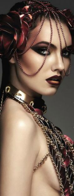 Marsala, Burgundy Fashion, Wolf, Black Plum, Pantone Color, Headdress, Just In Case, Most Beautiful, Halloween Face Makeup