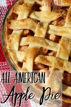 An all-American apple pie recipe, sure to please even the pickiest of guests. Plus, it's dairy-free and delicious!