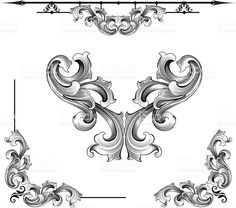 View top-quality illustrations of Baroque Assortment. Find premium, high-resolution illustrative art at Getty Images. Baroque, Angles Images, Victorian Curtains, Arrow Symbol, Free Illustrations, Hand Engraving, Free Vector Art, Photo Illustration, Royalty Free Images