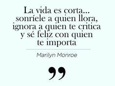 Palabras de Marilyn Monroe                                                                                                                                                      Más