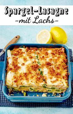 Diese #Lasagne vereint alles was wir lieben: #Lachs #Spargel #Pasta #Käse
