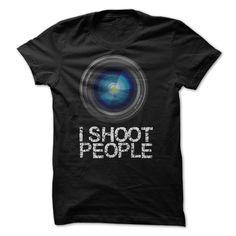 I Shoot People Photographer Tee