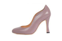 violet wide fit stilettos side