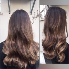 Babylights for sun kissed dimension. - Lange Haare- Babylights for sun kissed dimension. – Lange Haare Babylights for sun kissed dimension. Sombre Hair Brunette, Hair Color And Cut, Hair Videos, Hair Looks, Dyed Hair, Hair Inspiration, Hair Cuts, Hair Beauty, Long Hair Styles