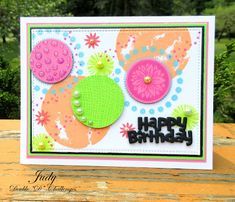 Tropical Colors, Neon Colors, I Adore You, Beach Ball, Ink Pads, What Goes On, Make Me Smile, Stampin Up, Card Stock