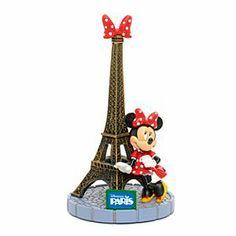 Disneyland Paris Kollektion - Minnie Maus mit Eiffelturm Deko