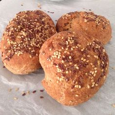 Pãozinho sem glúten e sem lactose de Teff e Quinoa! Receita no blog!