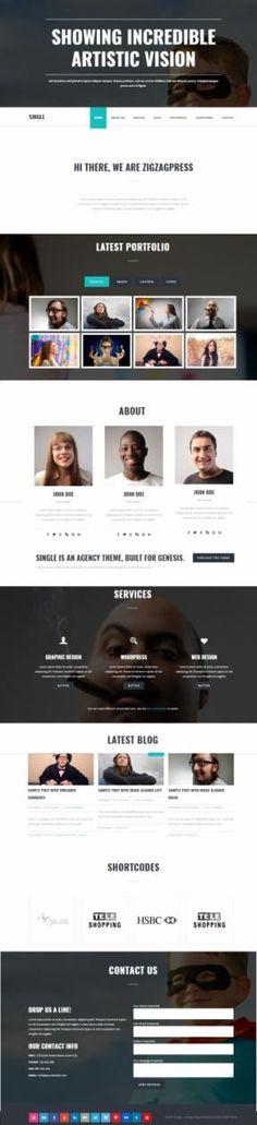 Single Genesis Business WordPress Theme : Zigzagpress http://www.awordpressthemesreview.com/single-review-zigzagpress/ #WordPress