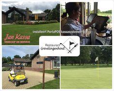 Vandaag een nieuwe installatie met 2 PortaPOS VariPOS kassasystemen opgeleverd bij Golf Restaurant Grevelingenhout te Bruinisse.