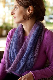 Crocheted Moebius Cowl by Churchmouse Yarns and Teas